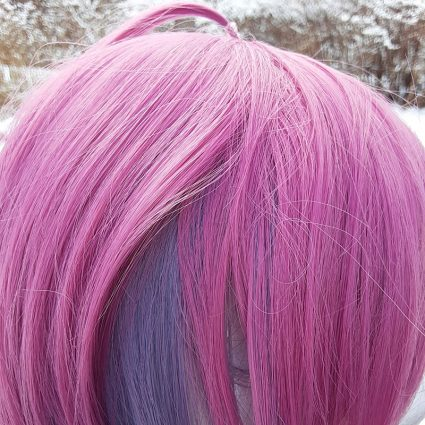 Ramuda cosplay wig color view