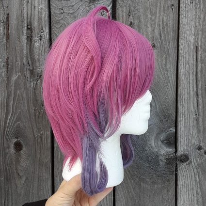 Ramuda cosplay wig side view