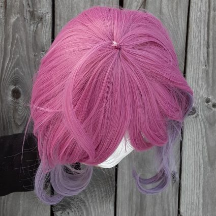 Ramuda cosplay wig top view
