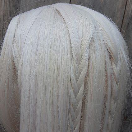 Deet cosplay wig braid view