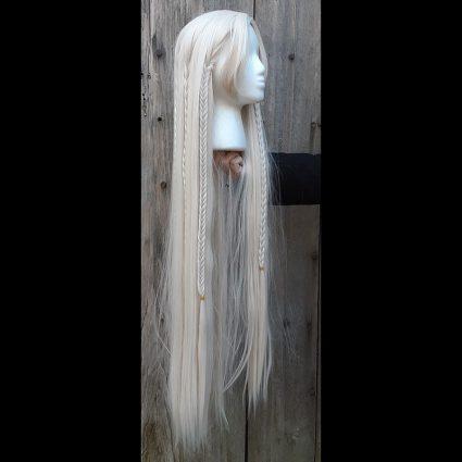 Deet cosplay wig side view