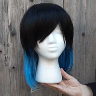 Inosuke cosplay wig