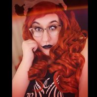 Ruby Gotham wig photo by Nana Darling