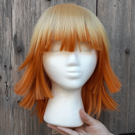 Zenitsu cosplay wig