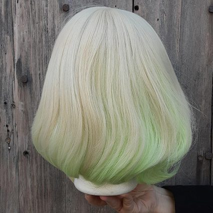 Lio cosplay wig back view