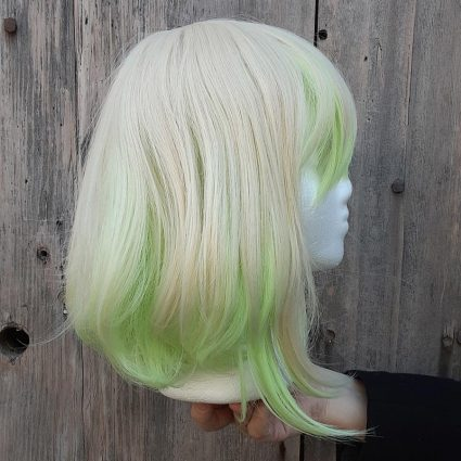 Lio cosplay wig side view