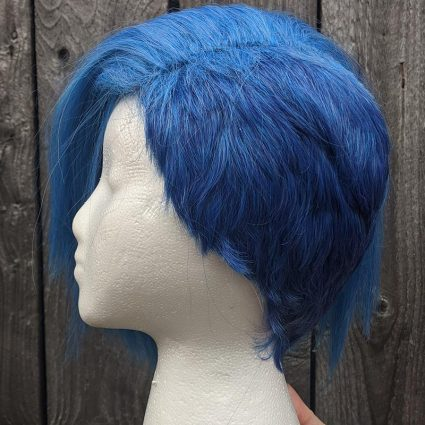 Galo cosplay wig side view