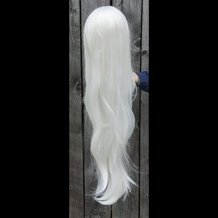 Carmilla cosplay wig back view