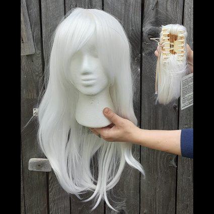 Estinien cosplay wig clip view
