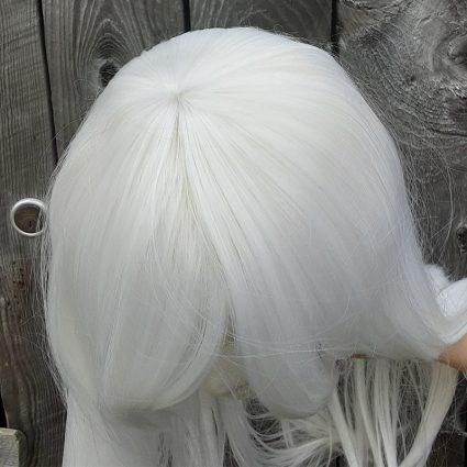 Estinien cosplay wig top view
