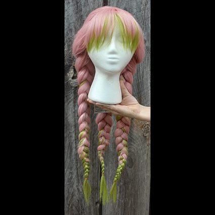 Mitsuri cosplay wig