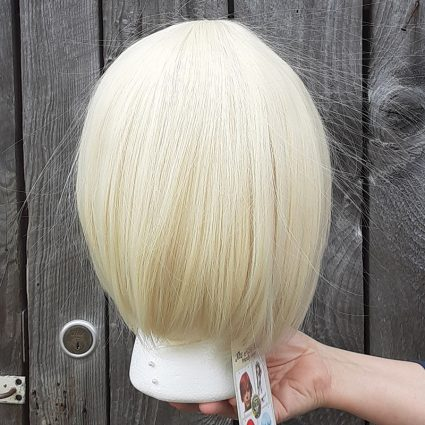 He-Man cosplay wig back view