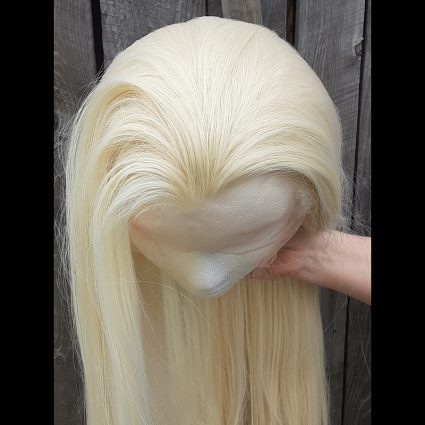 Thranduil cosplay wig top view