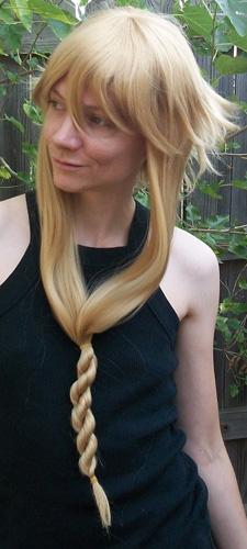 Medusa cosplay wig