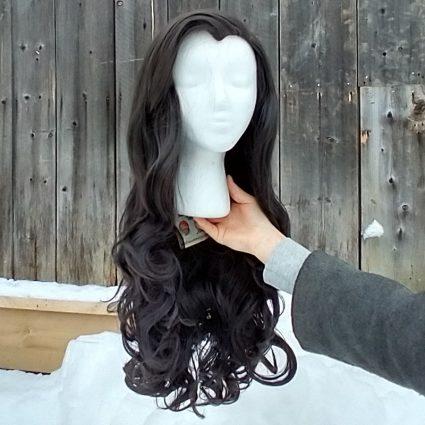 Asami cosplay wig