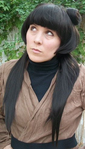 Mai cosplay wig