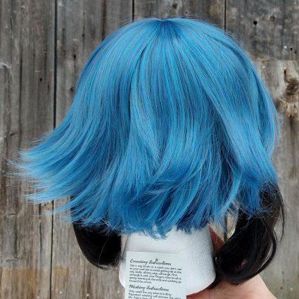 Michiru cosplay wig back view