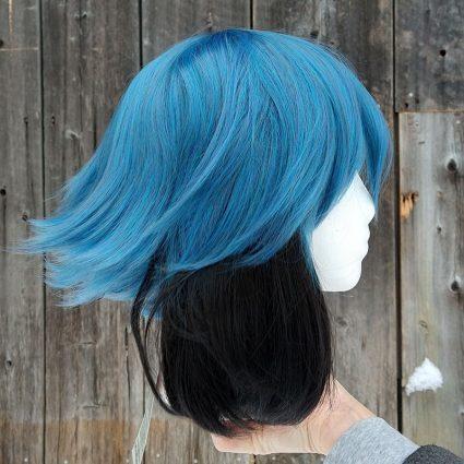 Michiru cosplay wig side view