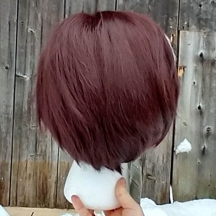Emet-Selch cosplay wig back view
