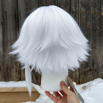 Y'shtola cosplay wig back view