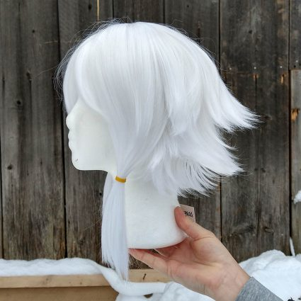 Y'shtola cosplay wig side view