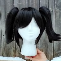 Coal Sprite cosplay wig
