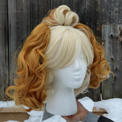 Isabelle cosplay wig