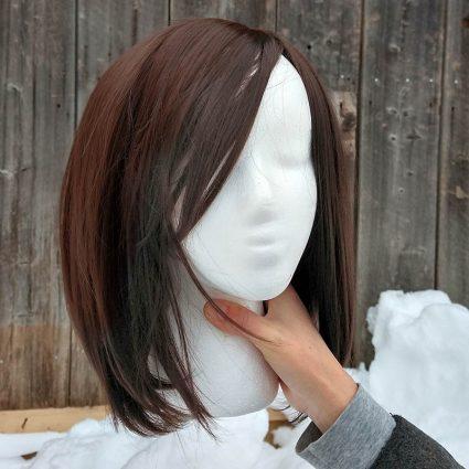 Korra cosplay wig