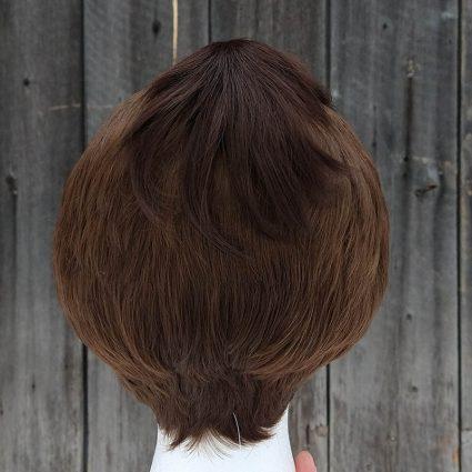 Sokka cosplay wig back view