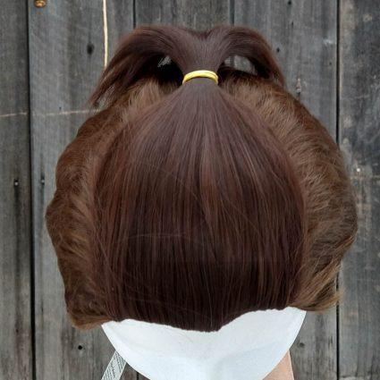Sokka cosplay wig top view