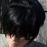 Toph cosplay wig