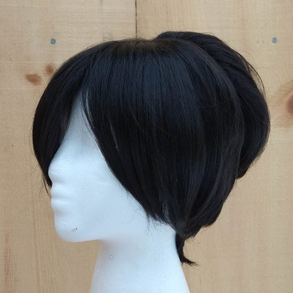 Toph cosplay wig ¾th view
