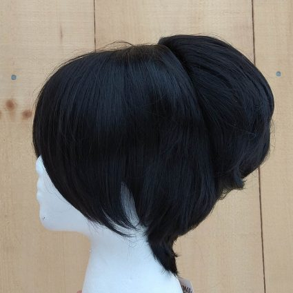 Toph cosplay wig side view