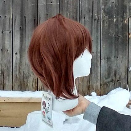 UWU Smol cosplay wig side view