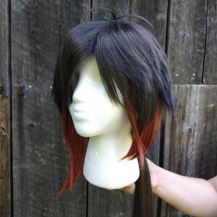 Zhongli cosplay wig