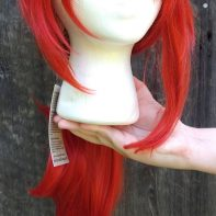 Diluc Cosplay Wig