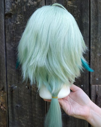 Sucrose cosplay wig back view