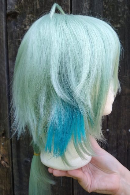 Sucrose cosplay wig side view