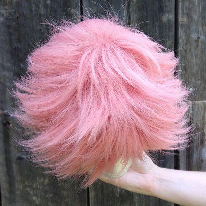 Yuji cosplay wig top view